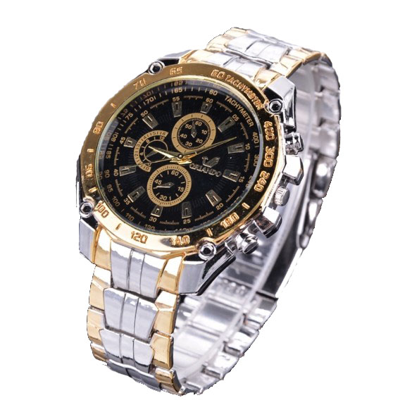 FANALA herrklockor Relogio Masculino Luxury Brand Quartz Watch Full Stainless Steel Analog Display Casual Watch Män Armbandsur