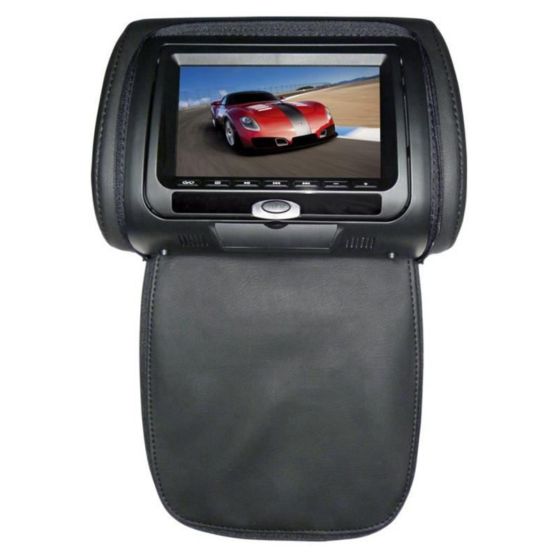Auto Headrest Bag DVD Monitor Car Headrest Monitor DVD HD Display 7 Inch DVD MP5 USB LCD Screen Car Pillow Headrest Monitor