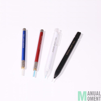 Border BD0018 Multi Functional Thin Tenacity Burnisher Fine Polishing Pen Military Model Gunda DIY Hobby Model Tool Accessory Model Building Kits TOOLS color: 1mm Polishing Pen|2mm Polishing Pen|3mm Polishing Pen|4mm Polishing Pen