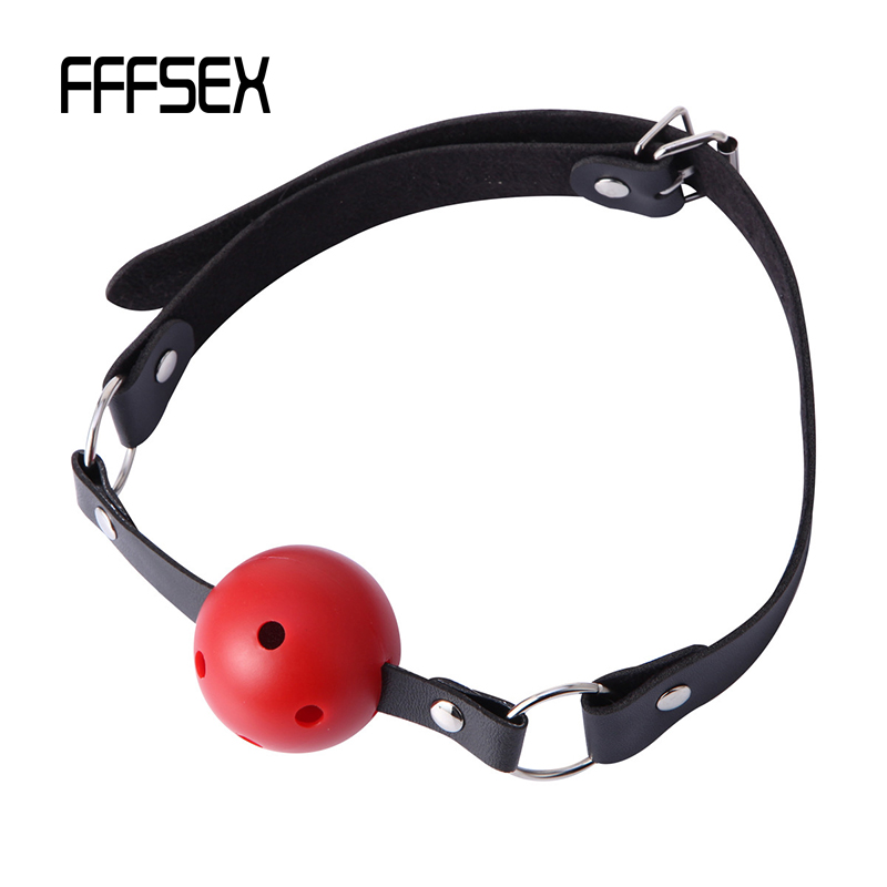 FFFSEX Sexy Lingerie Hot Erotic Erotic Toys  Ball Open Mouth Gag Sex Bondage Mouth Stuffed Adult Mouth Ball Exotic Accessories