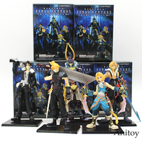 Final Fantasy 5pcs Set Cloud Warrior Of Light Action Figures Squall Doll PVC Action Figure Collectible