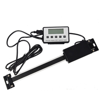 0 150/300mm Linear Tool Led Digital Readout Measuring Remote Ruler Durable Scale For Milling Lathe LCD Display Instruments