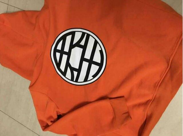 Goku Kame Symbol Zipper Hoodie