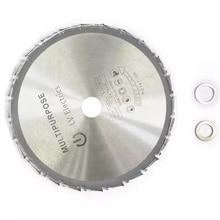цена на 1pcs 210mm Wood Cutting Metal Circular Saw Blades 24T for Tiles Ceramic Wood Aluminum Disc Diamond Cutting Blades