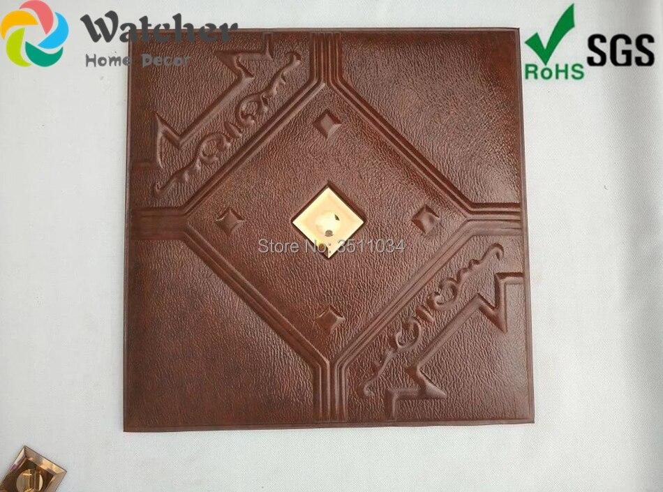 1 коробка 8 шт. новый строительный материал 3D резные кожаные огнестойкие декоративные стеновые панели от фабрики более низким ценам
