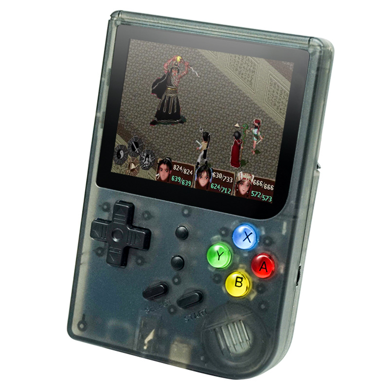 Retro Game Console 16G 300 Rs300 TONY System  Mini Video Game Console Open Source Handset  Handheld Video Games(China)