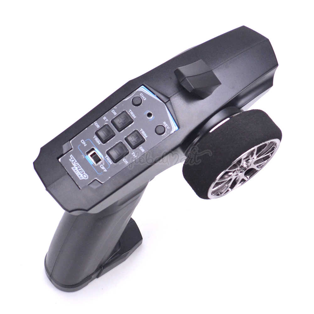 TURBO de 91803G-VT 2,4 GHz 3CH transmisor de sistema de radio control remoto w/receptor para RC coche barco PK TG3 FS-GT3B