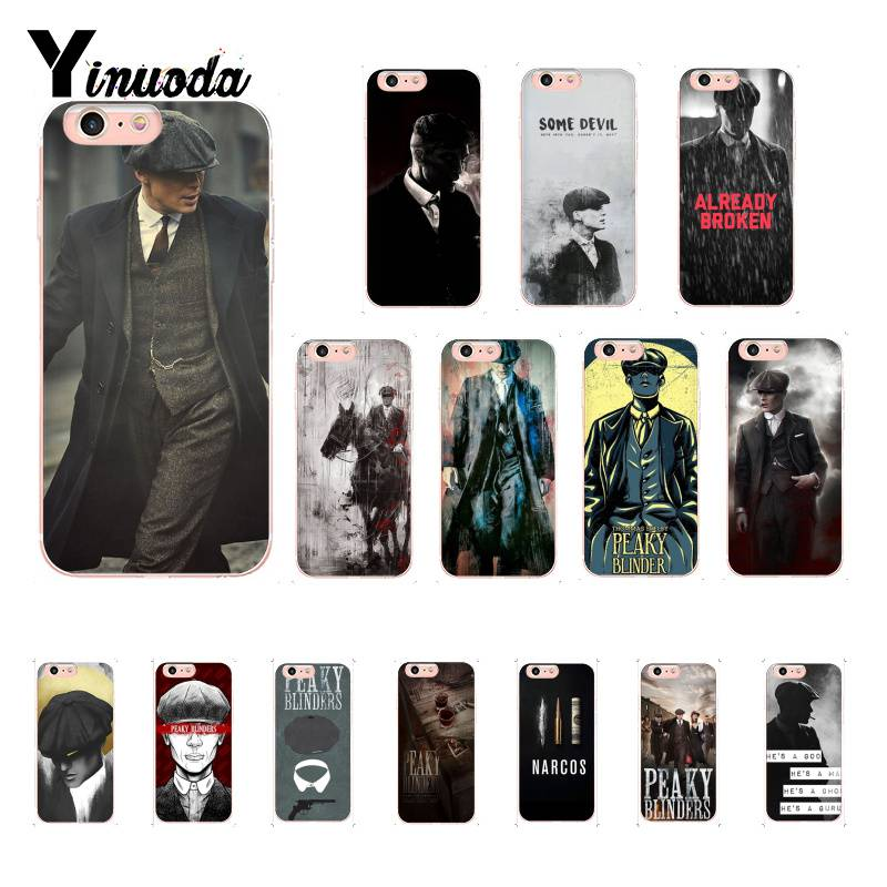 Yinuoda Peaky Blinders Tommy Shelby vintage Cute Phone Case for iPhoneX XSMAX 6 6s 7 7plus 8 8Plus 5 5S SE XR 11 11pro 11promax