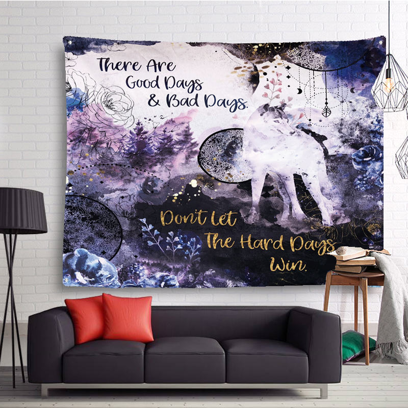 2018 Newest 3D Creative Animal Printed Tapestry Wall Hanging Series Pattern Dorm Decor For Living Room Bedroom Tapestry Mural Tapestry     - title=