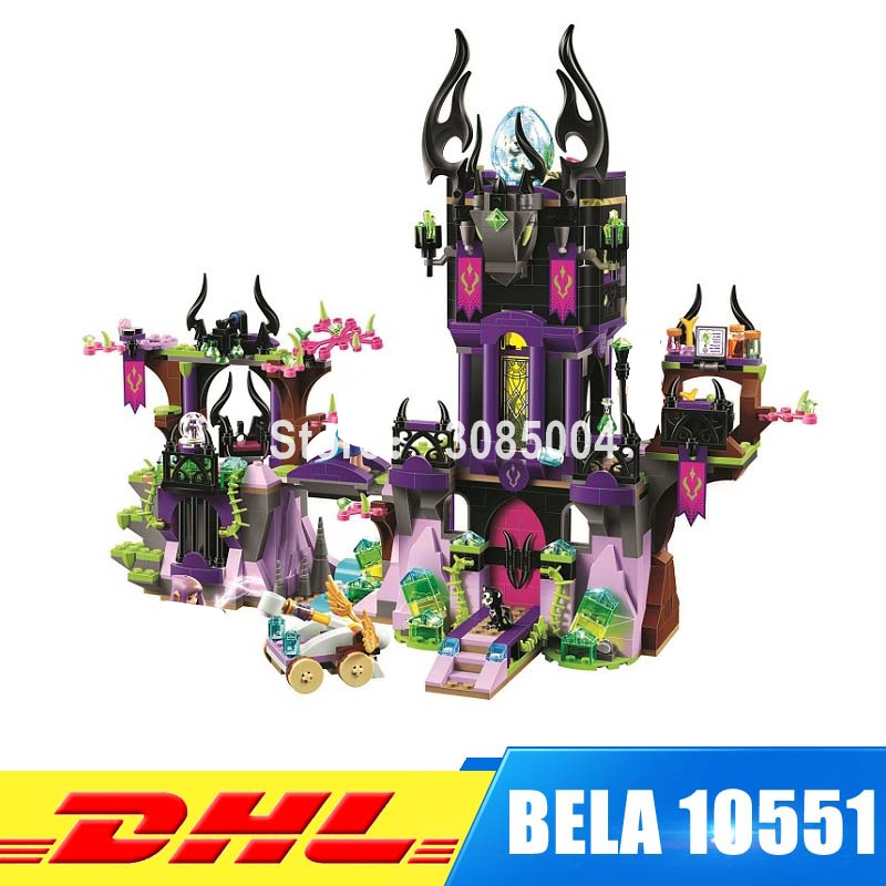 BELA 10551 Elves Series Ragana's Magic Castle Building Block 1023Pcs DIY Educational Construction Assemble Toys For Children 10551 elves ragana s magic shadow castle building blocks bricks toys for children toys compatible with lego gift kid set girls