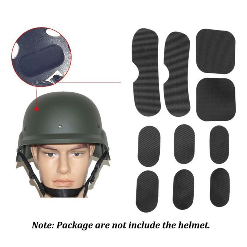 Pottery & Glass Earnest 19pcs Standard Helmet Pads Eva Non-toxic Quick Dry Protective Cushion Replacement For Fast Helmets With Hook And Loop Fastener