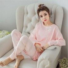 Conjuntos de pijamas de manga larga para mujer Pijamas de verano de dibujos animados conjuntos de pijamas para el hogar pantalones cortos para hombre chándal pijamas trajes