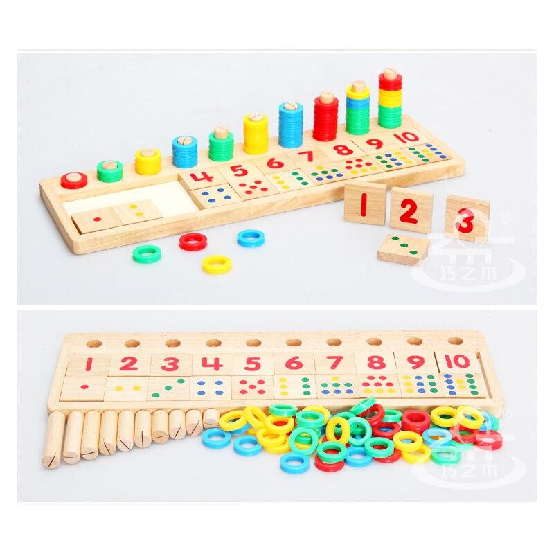 Colourful And Vivid Montessori Teaching Tool Math Number