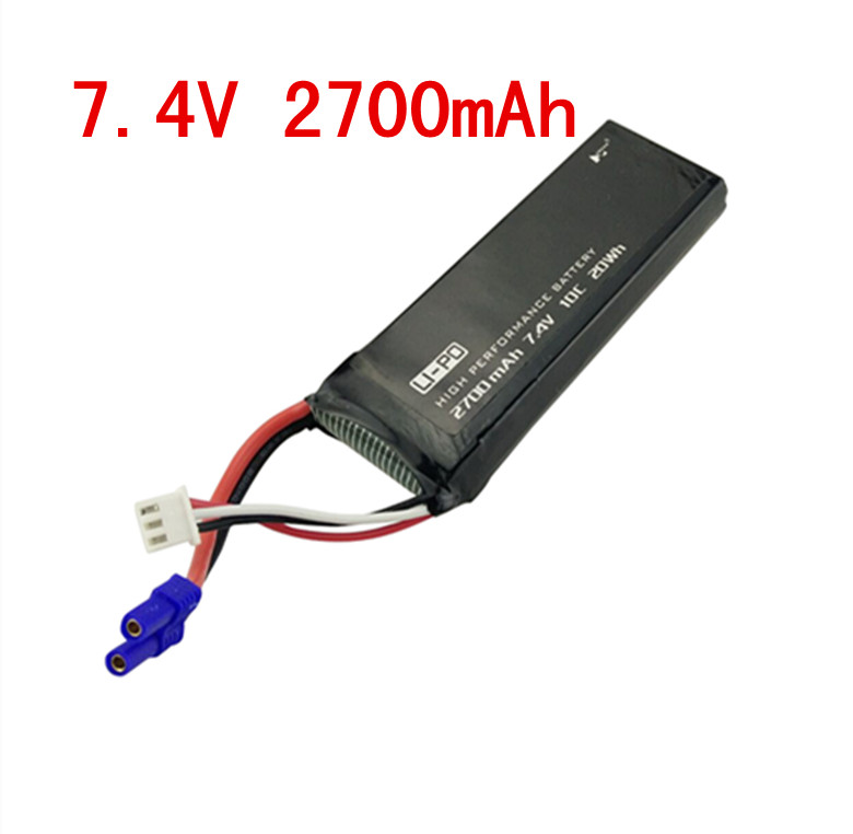 Original Hubsan H501S X4 RC Quadcopter Spare Parts 7.4V 2700mAh 10C Rechargeable Battery H501S-14 h301s 11 hubsan h501s x4 rc quadcopter spare parts charger