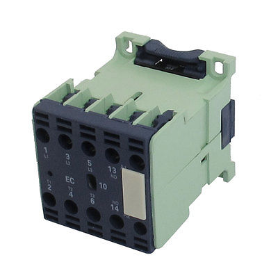 CJX2-0610E 24 Volts 6A 50/60Hz Coil A Tre Poli 1NO Contattore di CA