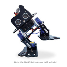 SunFounder DIY Robot Kit Programmable Sloth Learning Kit for Arduino Nano Ultrasonic Sensor Electronic Toy with Manual