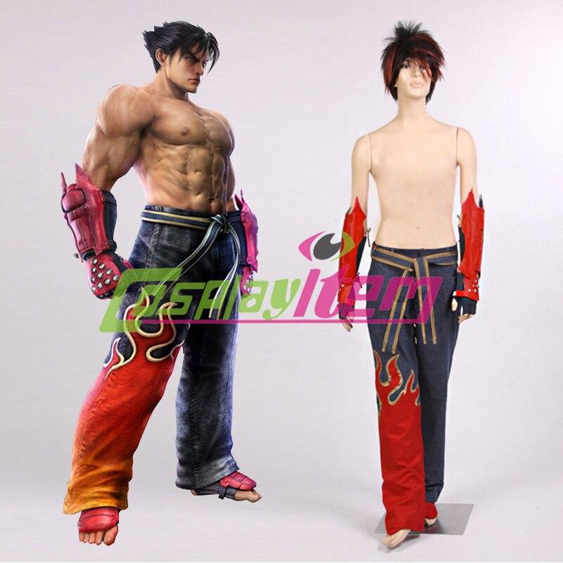 Customized Movie Tekken 6 Cosplay Jin Kazama Cosplay Costume