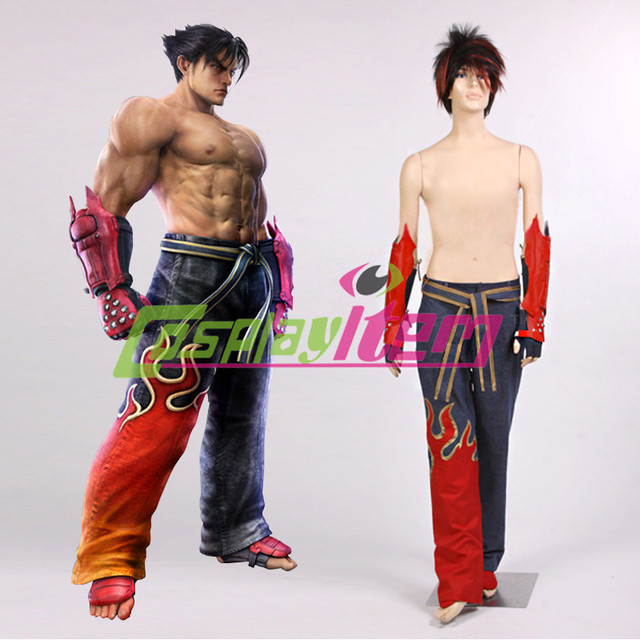Customized Movie Tekken 6 Cosplay Jin Kazama Cosplay Costume Version