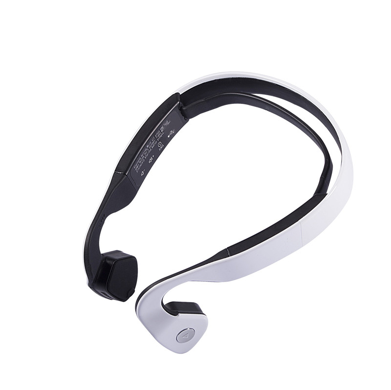 S.Wear Bluetooth 4.0 Wireless Headset Sports Bone Conduction Earphone Headphones Ear Hook Stereo with Mic with box kz headset storage box suitable for original headphones as gift to the customer