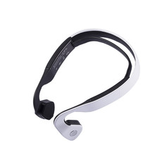 S.Wear Bluetooth 4.0 Wireless Headset Sports Bone Conduction Earphone Headphones Ear Hook Stereo with Mic with box