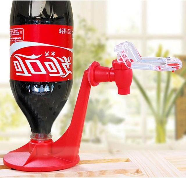 רז הקסם שומר סודה Dispenser בקבוק קוק במהופך שתייה לוותר מים המפלגה בר מטבח גאדג 'טים לשתות מכונות
