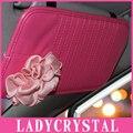 Ladycrystal Мода Высокое качество Автомобилей CD DVD Дисков Карта Козырек Держатель Случая Clipper Сумка Организатор Хранения