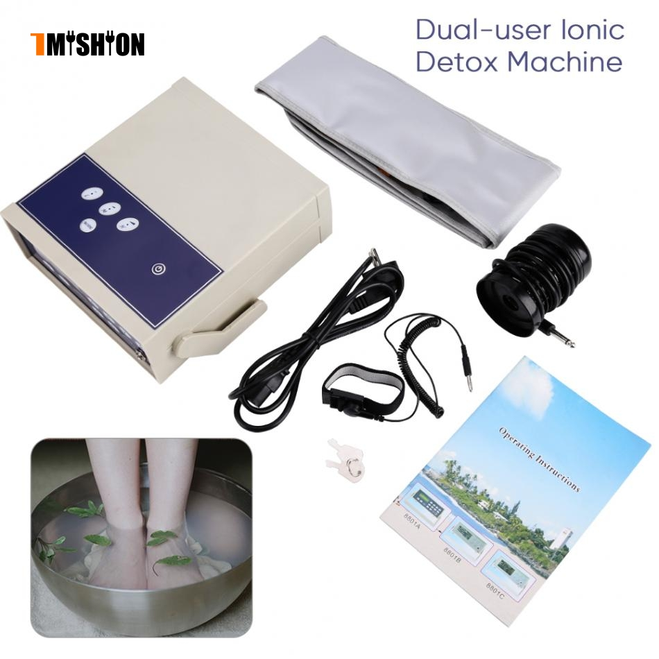 Ionic Foot Detox Machine Foot Massager Ion Array Footbath Spa Cleanse Ionic Ion Detoxification Foot Spa Cleanse Health Care