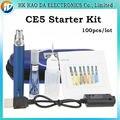 EGo CE5 starter kit de Cigarrillo Electrónico ego-t de La Batería e cig líquido multicolor atomizador Vaporizador para mejor cigarrillo 100 pc/lot