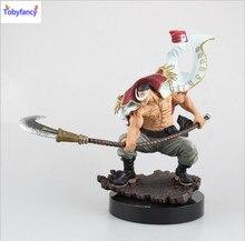 Tobyfancy One Piece Action Figure WHITEBEARD Pirates Edward Newgate PVC Onepiece SCultures the TAG team Anime Figure Toys