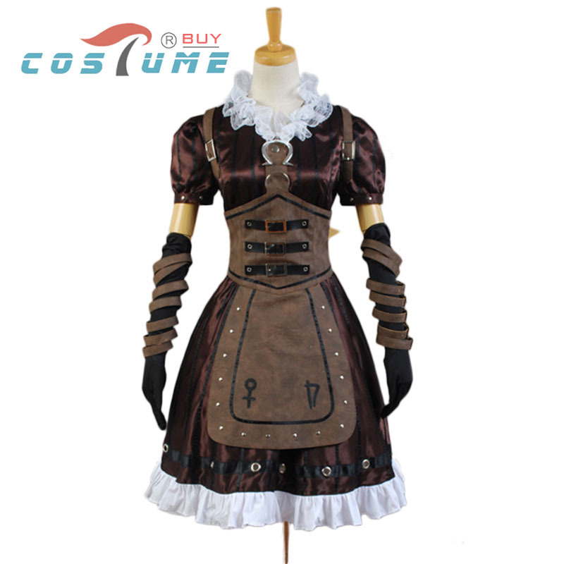 Alice Madness Returns Cosplay Costume Alice Madness Returns Alice Dress Halloween Carnival Costumes alice madness returns heroine alice cosplay costume black white striped customized anime uniform