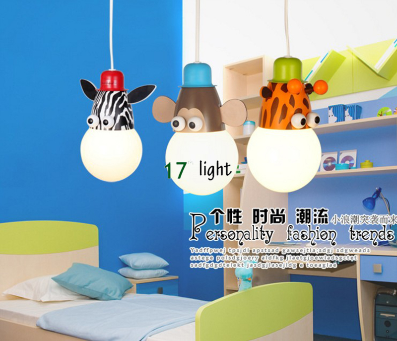 Neuheit LED kinder licht cartoon tier affe/zebra/giraffe kid ...