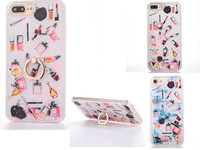2017 Fashion Make Up Case Liquid Quicksuit Soft Side Phone Case For Iphone 7 7plus 6