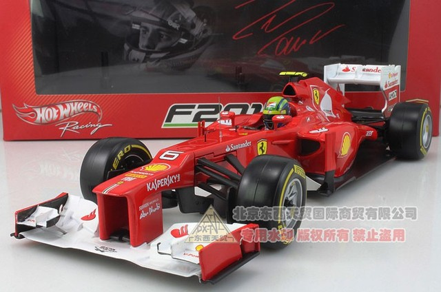1:18  F1 hot wheels car model # 6 The car 2013 hot ! the newest  free shipping