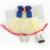 Azul Branca de Neve Trajes Lace Petti Romper Do Bebê Vestido De Aniversário Roupas Macacão Bebê Recém-nascido Roupas Roupas de Menina Infantil