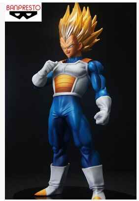Original modelo Estatueta Super Saiyan DRAGON BALL Z vegeta Banpresto SCultures big 6 especial limitada versão pvc figura toy