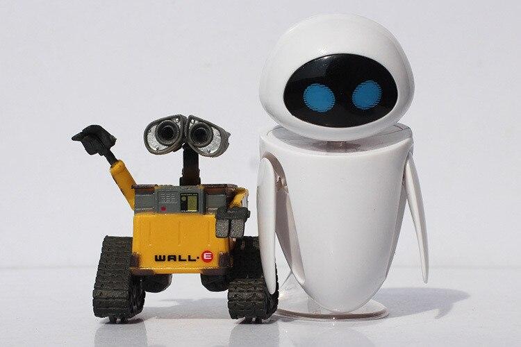 2 стиля дополнительно мультфильм стены e игрушка Валле Eve рисунок Игрушечные лошадки ВАЛЛ-робот фигурки Куклы розничная продажа, Бесплатная ... ...