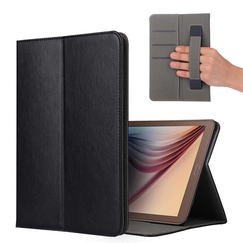Case For Samsung Galaxy Tab A 6 A6 10.1 P580 P585 S-Pen Version(NOT TAB A T580)Leather Smart Stand Tablet Case Hand Holder Cover