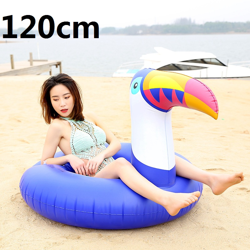 Giant-Inflatable-Flamingo-Pool-Float-Pink-Ride-On-Swimming-Ring-Adults-Children-Water-Holiday-Party -