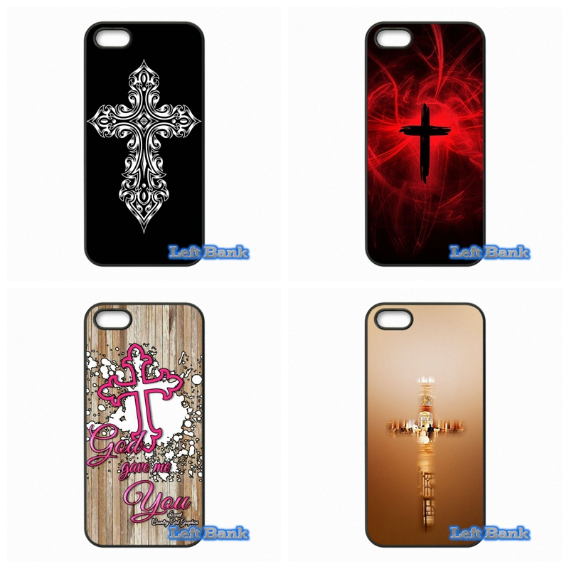 Bible Jesus Christ Christian Cross Phone Cases Cover For Apple iPhone 4 4S 5 5S 5C SE 6 6S 7 Plus 4.7 5.5 iPod Touch 4 5 6