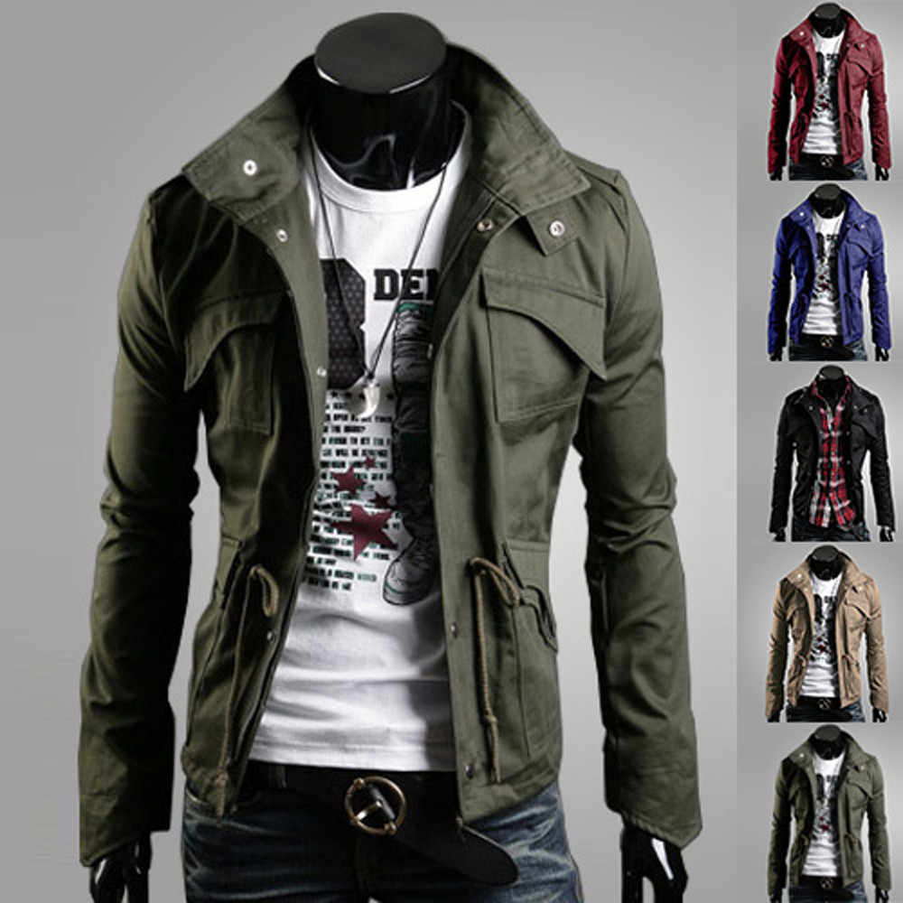 Mens Pure Color  Pullover Long Sleeve Hooded Sweatshirt Tops Blouse Slim Fit Male Zipper Hoodies Jacket Plus Size Sportswear