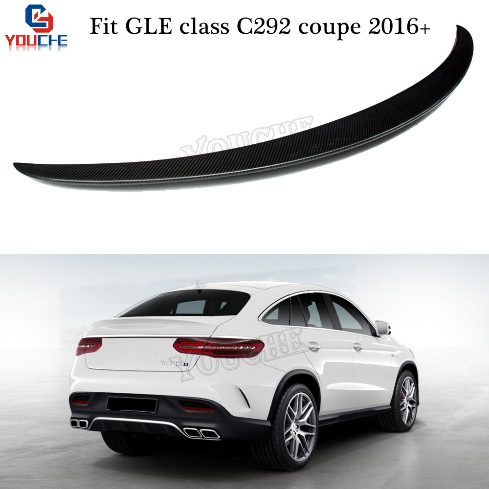 2016 Mercedes Benz Gle Coupe Exterior: C292 Carbon Fiber Lip Rear Trunk Spoiler Wing For Mercedes