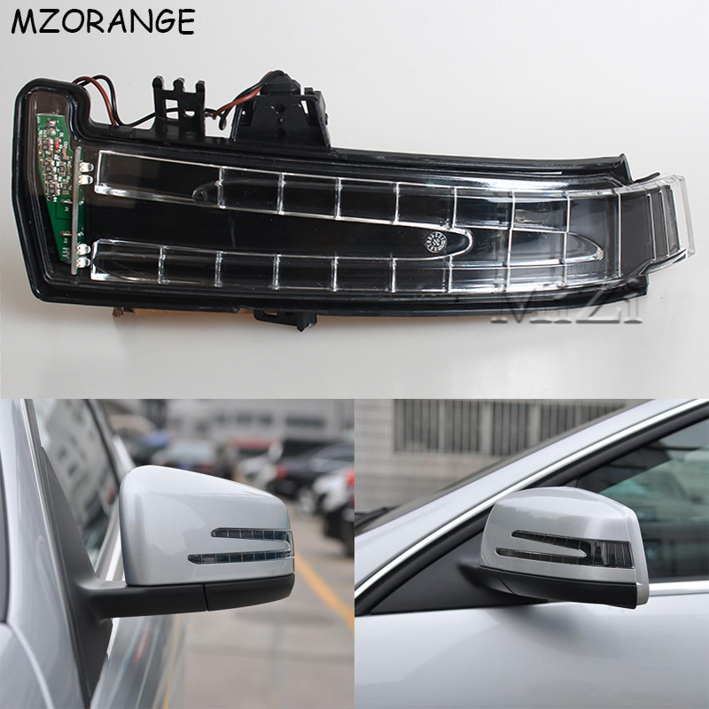 Car Rear View Mirror Turn Signal Light For Mercedes Benz W221 W212 W204 W176 W246 X156 C204 C117 X117 LED Indicator Blinker Lamp-in Signal Lamp from Automobiles & Motorcycles