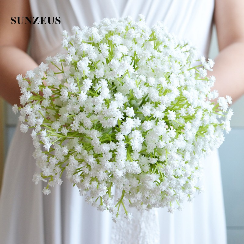 What Are Cheap Flowers For Weddings: Gypsophila Plants Flowers Charming Wedding Bouquet