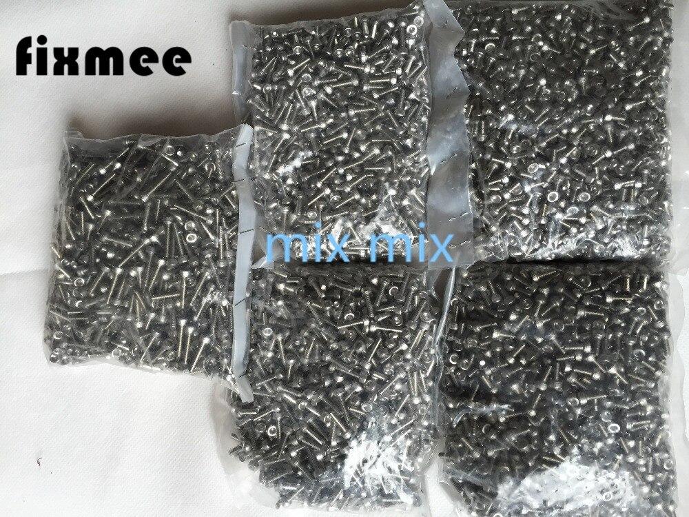 100PC Metric Thread M3 Stainless Steel Hex Bolt Kit 304 Cap Nut Washer Set Screw thread 304 stainless steel square nut fastener nut screw m4 m5 m6 m8 m10