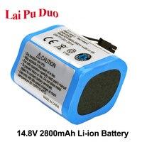 14.8 v 2800 mah Li-ion Bateria de Substituição 18650 Para Haier Varrendo Robô T520 T550 TAB-T322PLUS Série Baterias Limpas