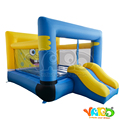 YARD DHL free shipping Inflatable trampoline bouncer for home use backyard bouncy castle  for Sponge bob toys