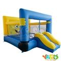 Yard dhl frete grátis bouncy castelo inflável trampolim bouncer para uso doméstico quintal para bob esponja brinquedos