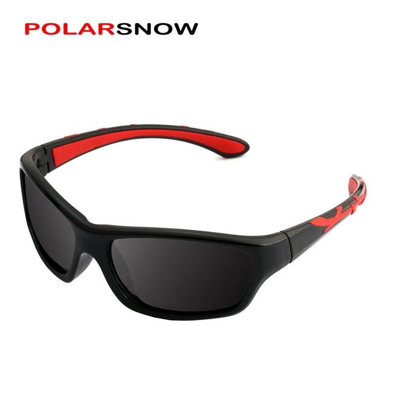 POLARSNOW 2018 New Sunglasses Polarized Brand Designer Sport Children Sun Glasses Baby Eyeglasses Oculos De Sol