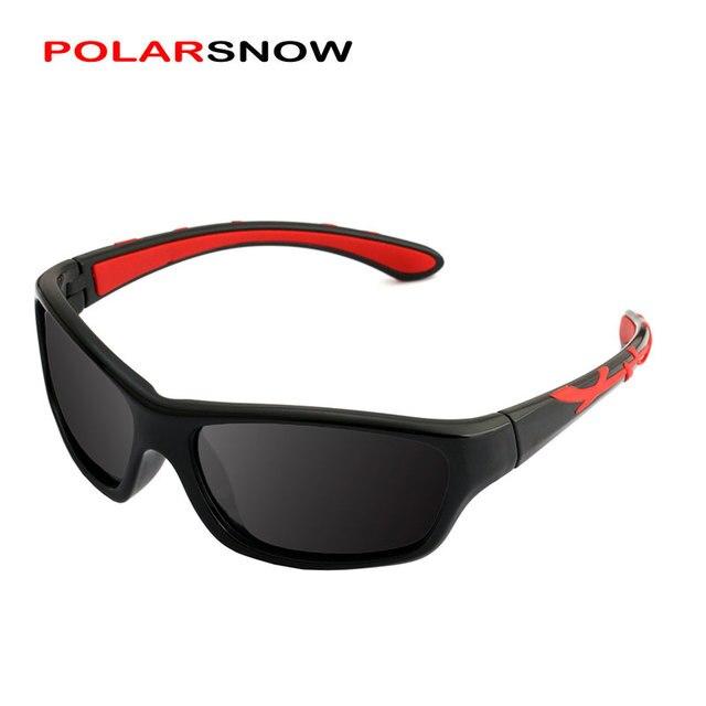 2560b1774 POLARSNOW 2018 New Sunglasses Polarized Brand Designer Sport Children Sun  Glasses Baby Eyeglasses Oculos De Sol-in Sunglasses from Mother & Kids on  ...