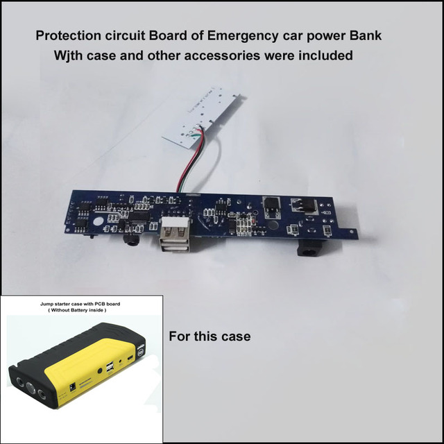 Protection circuit board 11.1V 15V or 10.8V Auto car jump starter ...